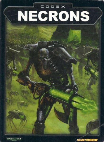 Necrons Codex Rulebook 2002